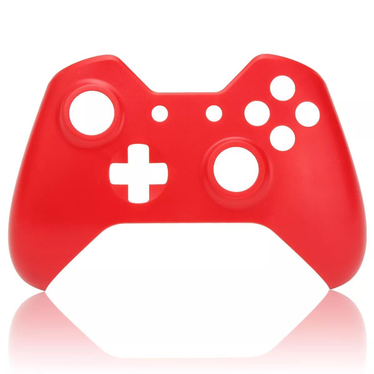 Xbox One Game Controller için Yumuşak Dokunuş Ön Konut Shell Ön kapak Değişimi - Mor