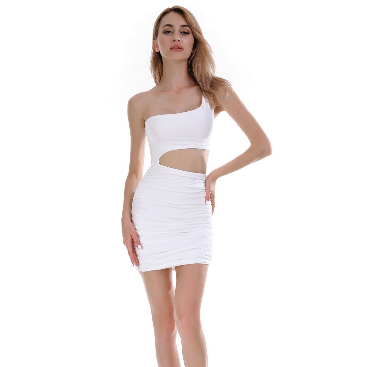 Мода женская сумка хип юбка новый 11 цвет 5 размер 2020 летнее платье европейский кроссовер ночной клуб сексуальное платье
