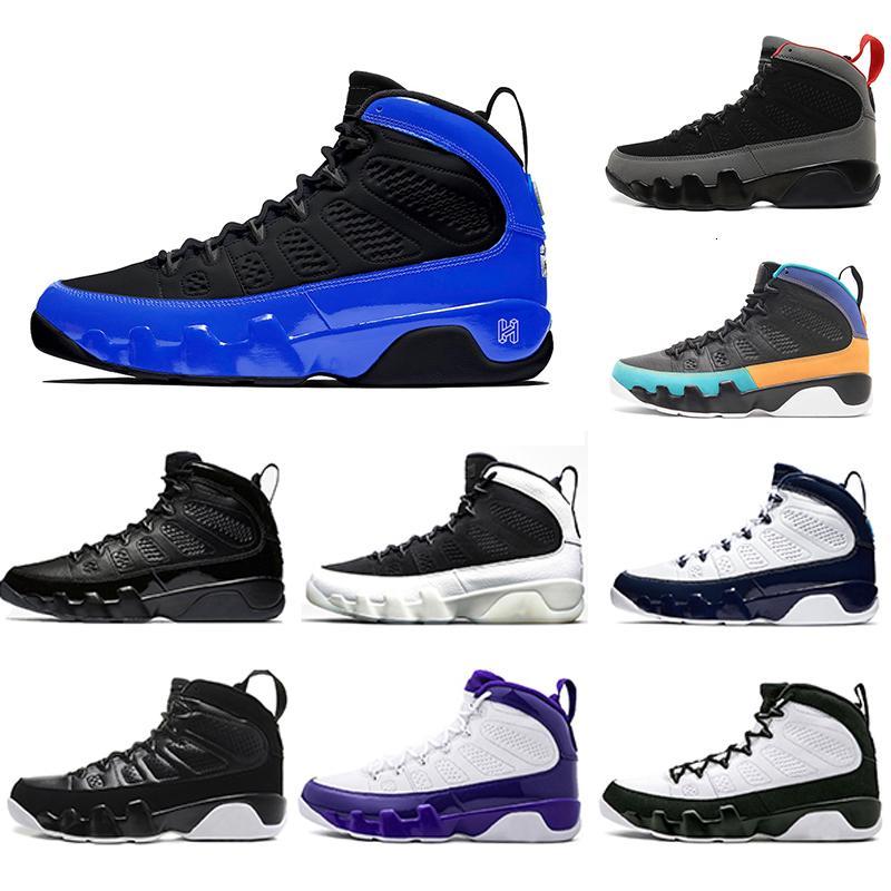 2020 Shoes Racer azul Citrus 9 IX 9s Sonhe-Mens Basketball LA Black White UNC Bred Oreo O Espírito Sports Sneakers 7-13