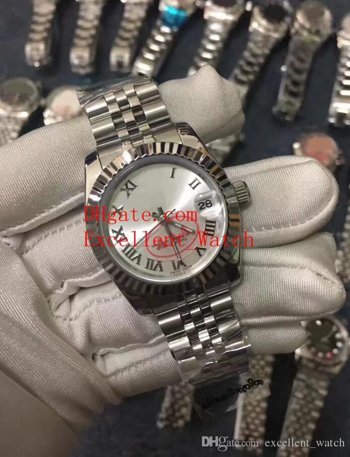 10 컬러 핫 판매 여성은 36mm 31mm 126334 279160 279174 178274 179174 스테인리스 아시아 2813 자동 기계 크리스마스보기