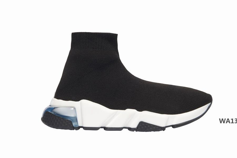 Baskets vitesse Qualité Sock Comme Fit Tech Mode Tricoté Hommes Femmes Outdoor Confort Chaussures Sock Runner BootsWA13
