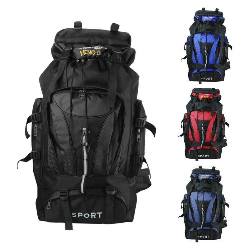 2020 Отдых Туризм Рюкзак Большой Открытый Сумка нейлоновая Superlight Спорт Дорожная сумка Альпинизм Рюкзак для мужчин Женщины поддержки 80L