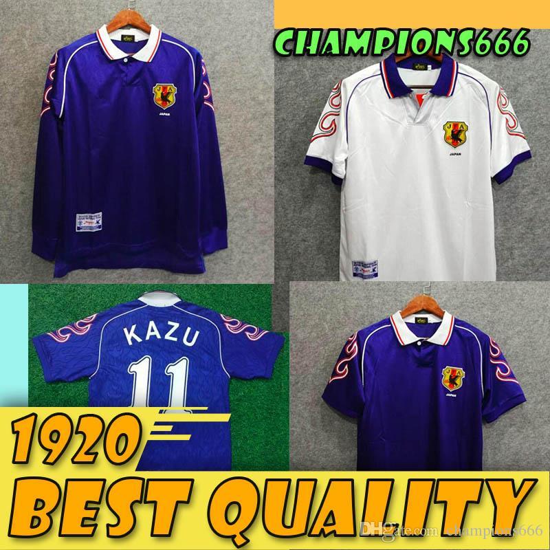 98/99 Retro Japon Soccer Jersey Accueil # 8 # 11 nakata Kazu # 10 Nanami # 9 NAKAYAMA soccer shirt 1998 Uniformes Coupe du Monde de football
