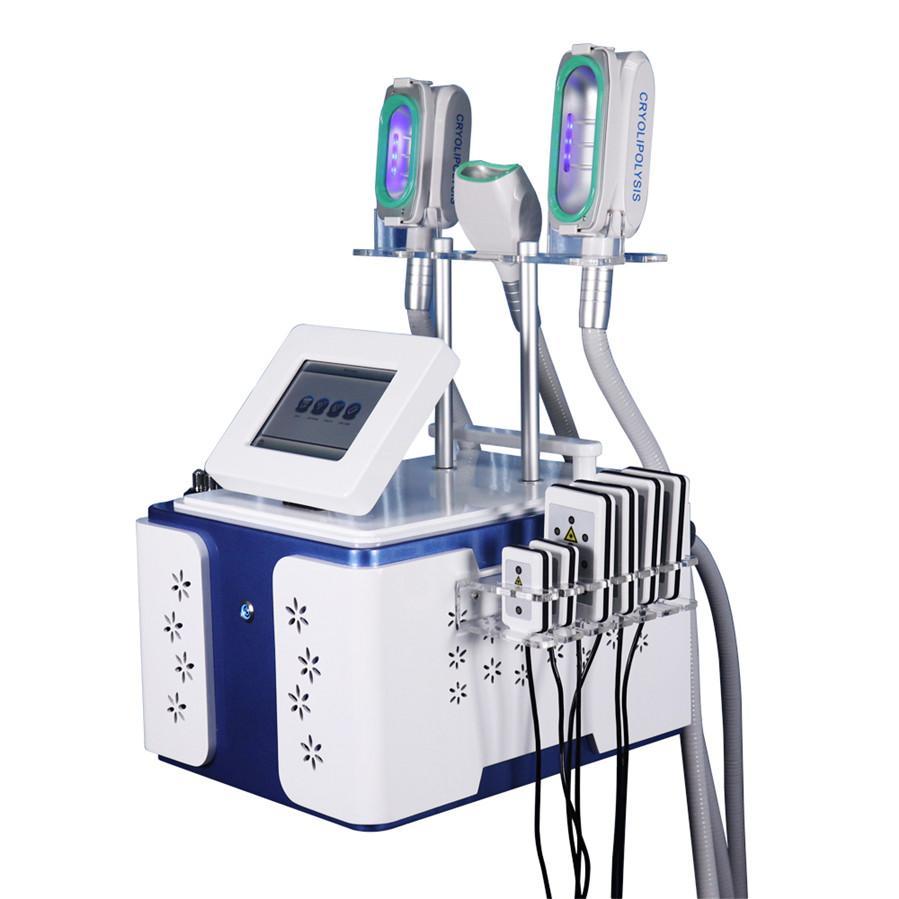 최신 다기능 한 Cryolipolysis 슬리밍 체중 감소 기계 (360)는 공동 현상 RF 진공 피부 리프트를 동결 ° tighen 지방 냉동 장비