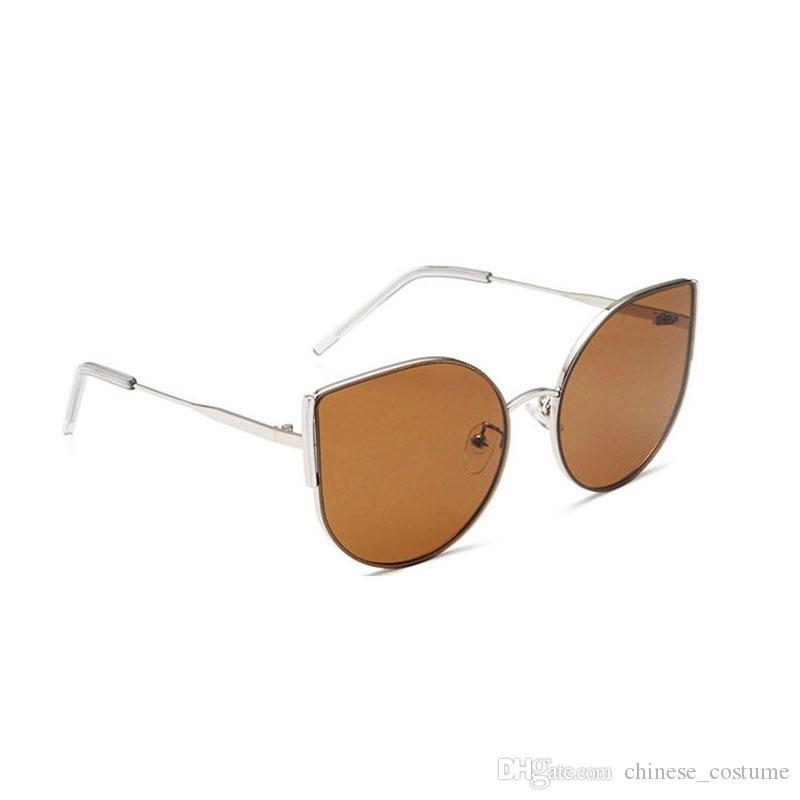 High-End Women's Sunglasses Women's Brand Designer GM Sunglasses Women's Big Cat Eyes Sunglasses Men And Women Outdoor Fashion Glasses
