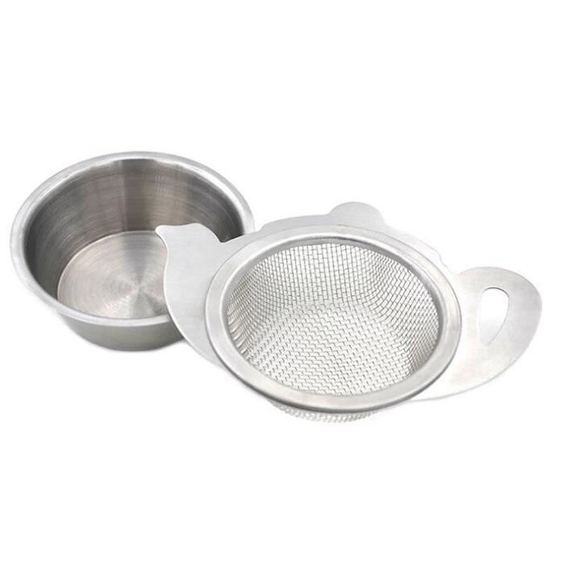 Passoire à thé avec poignée Mesh Infuser Porte-conteneur pour Teapot Tasses Coupes en vrac en acier inoxydable thé Outils Brewing