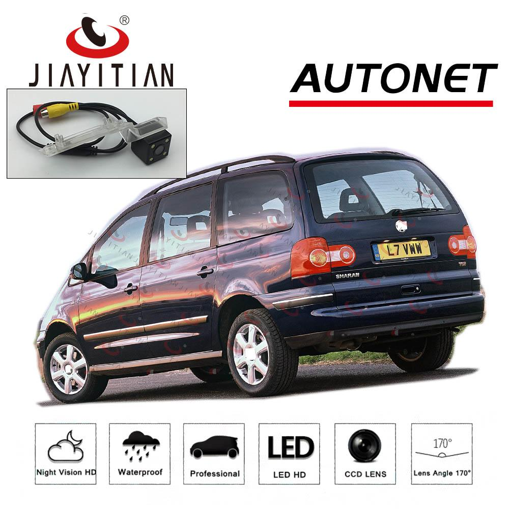 JIAYITIAN retrovisor Camera VW Sharan 7M 2004 2005 2006 2007 2008 2009 2010 carro / Licença câmera Placa CCD Night Vision de backup