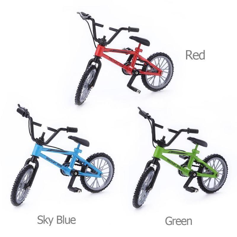 Mini Finger Mountain Bikes pressofuso lega di nichel stent Finger biciclette