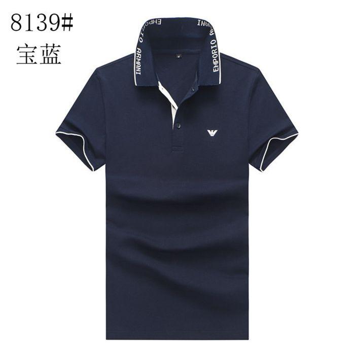 20SS nouvelle marque T-shirts Polo Hommes d'été Mode Marque T-shirt de luxe T-shirts pour hommes 100% coton T-shirts confortables et respirants 87t5456