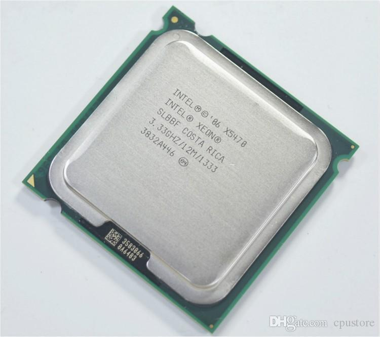 Intel Xeon X5470 SLBBF 3,33 12MB 1333 Quad-Core fonctionne CPU du processeur LGA 775 sur mainboard