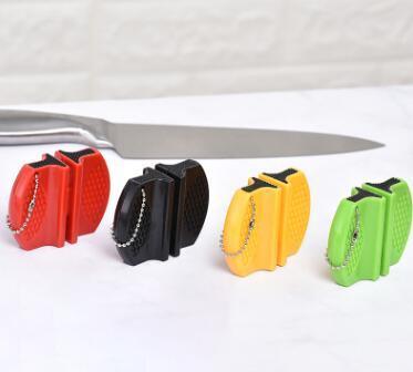 Мини-Ceramic Rod стали вольфрама Кэмп карманный портативный кухонный нож точилка Инструмент быстрого точило