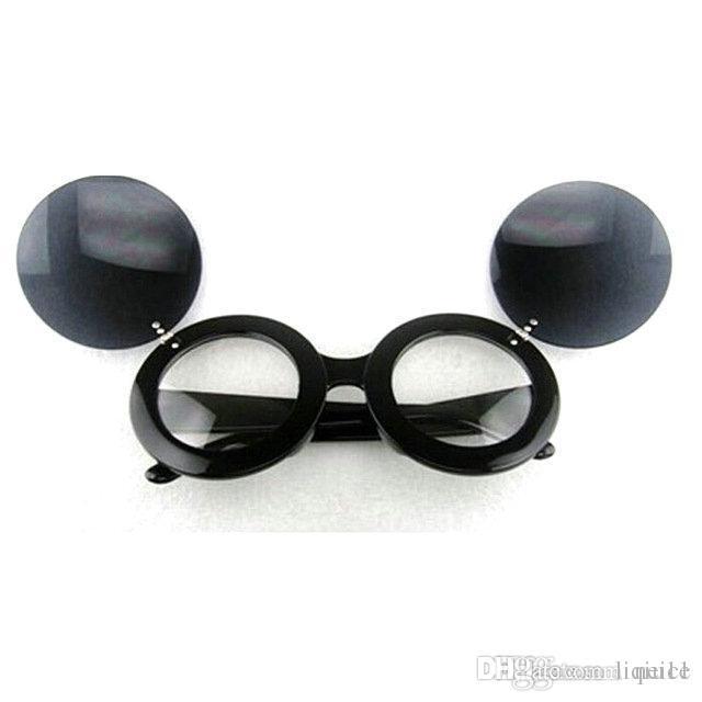 Toptan Satış - Toptan Güneş gözlükleri RETRO SUNGLASSES Mickey düz ayna ücretsiz gönderim