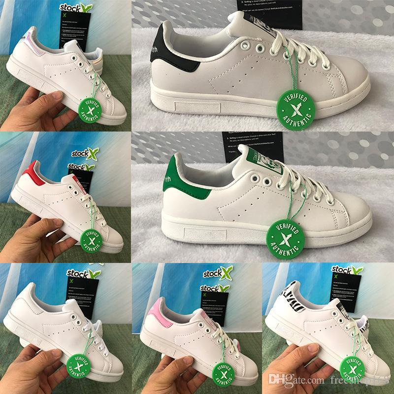 2020 Stan Smith Shoes Core White Green