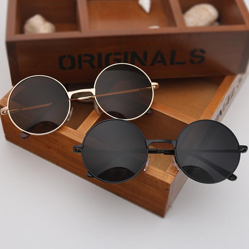 Kadınlar için 2020 Yuvarlak mercek gözlük Güneş / erkek erkek toprak moda kadın sunrods Renkli tasarım güneş gözlüğü
