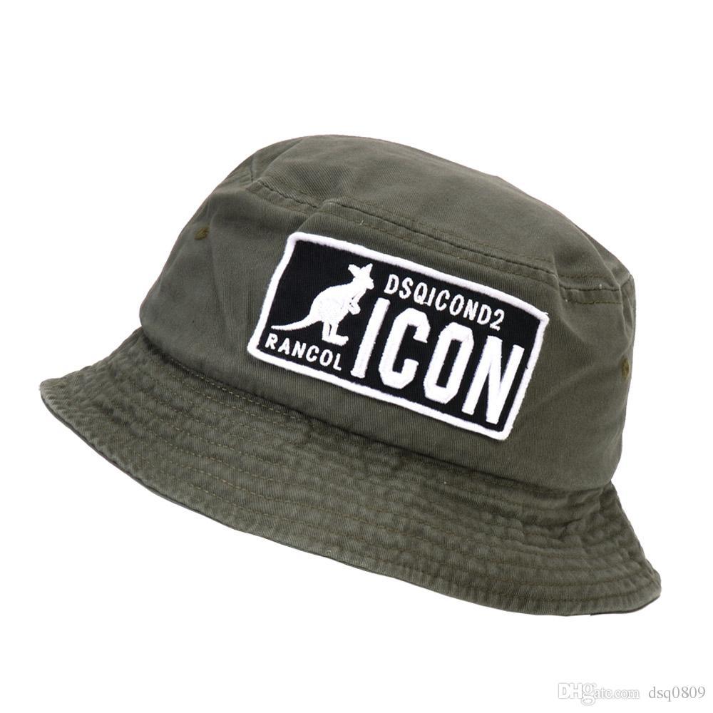 2019 New Fashion Letters Bucket Hat For Men Women Foldable Caps Black Fisherman Beach Sun Visor Sale Camping Fishing Hunting Man Bowler Cap