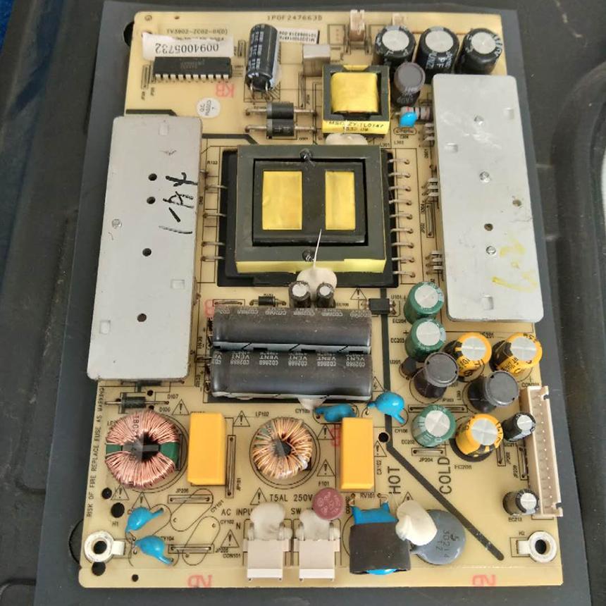 carte d'alimentation d'origine TCL LE40D8810 TV3902-ZC02-01