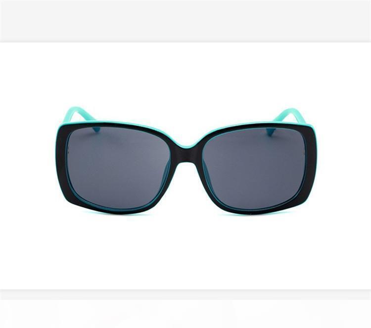Mode-Serie Artdamen Sonnenschirm hoher Qualität Damen Mode Sonnenbrillen Rahmen gradient Glaslinsenspiegel Modeplatte mit boxDR3571