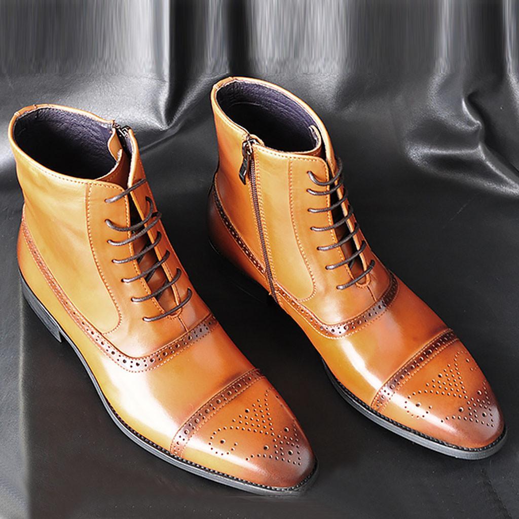 2019 klassische Stiefel Männer Handgemachte Wildleder Ankle Boots Male Bespoke Herbst-quadratische Zehe Männer Schuh Hochzeit Büro Botas 7.9