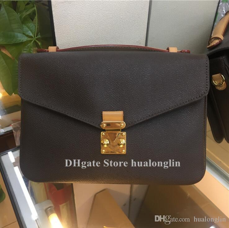 Мода женщина сумка сумка сумка мессенджер поперечный корпус сумка кошелек кожа дата код цветок