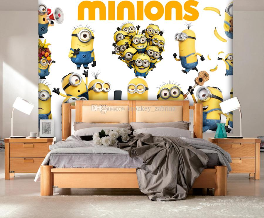 custom minions wallpaper boys kids girls