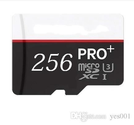 1PCS 32GB / 64GB / 128GB / 256GB PRO + Micro SD Card CLASS10 / Tablet PC TF Carte / carte mémoire Smartphone 90mb / s