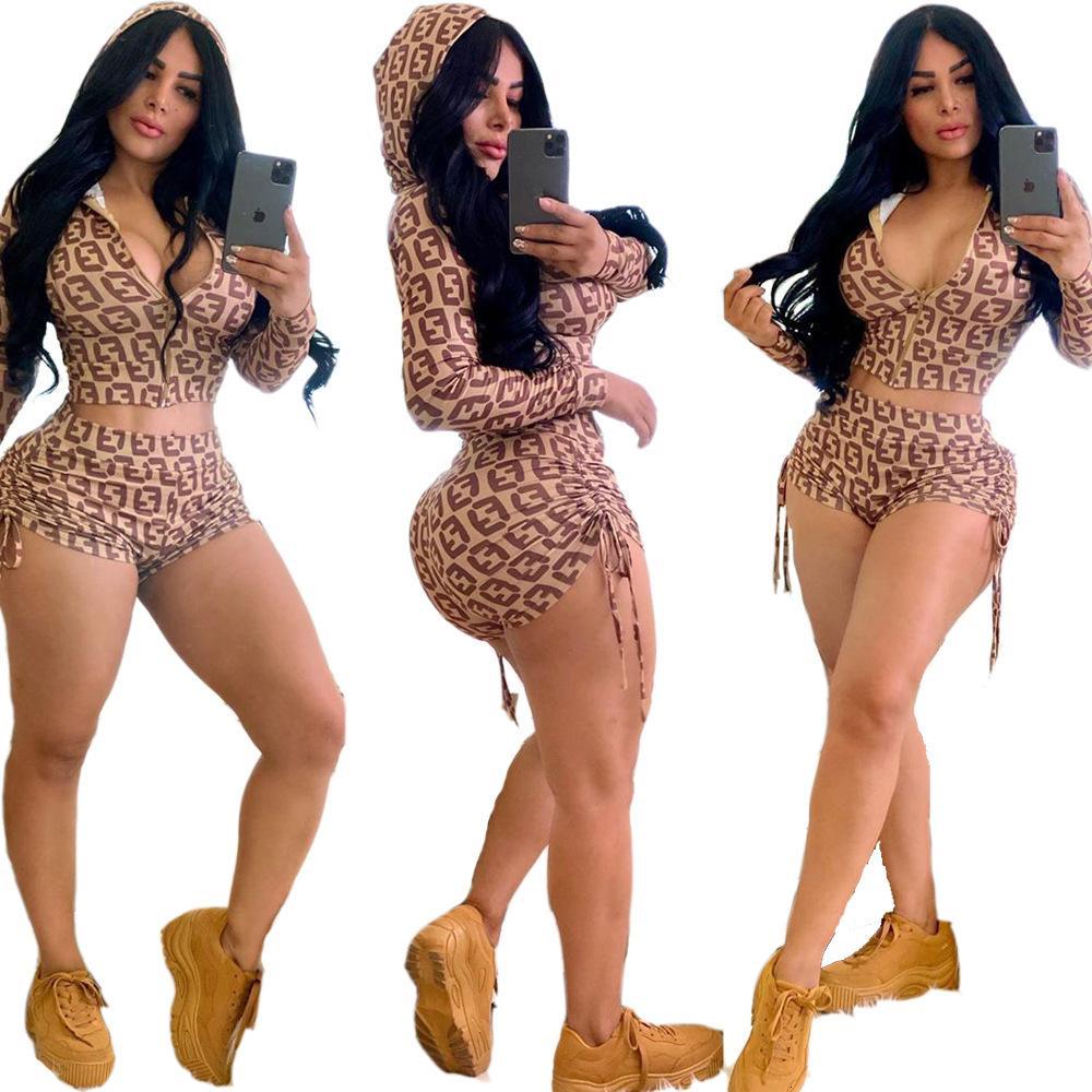 Tasarımcı Kadınlar İki Adet Kıyafetler eşofman kadınlar sıcak yeni en iyi satış favori rahat 663S koştu spor giyim womens