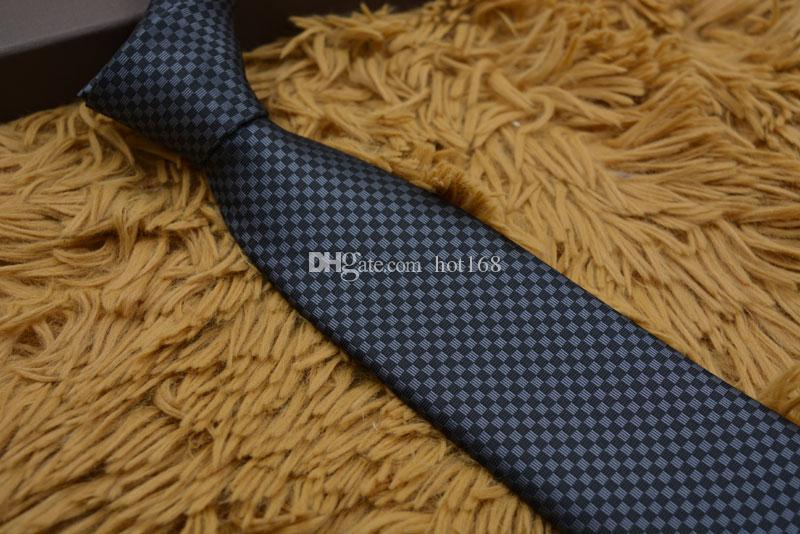 Hommes Affaires Cravate formelle Mariage Cravates à la mode Loisirs Cravate Slim Cravate Flèche étroite Cravate Skinny Lettre Date Cravate Hommes Parti Casual Cravates 109