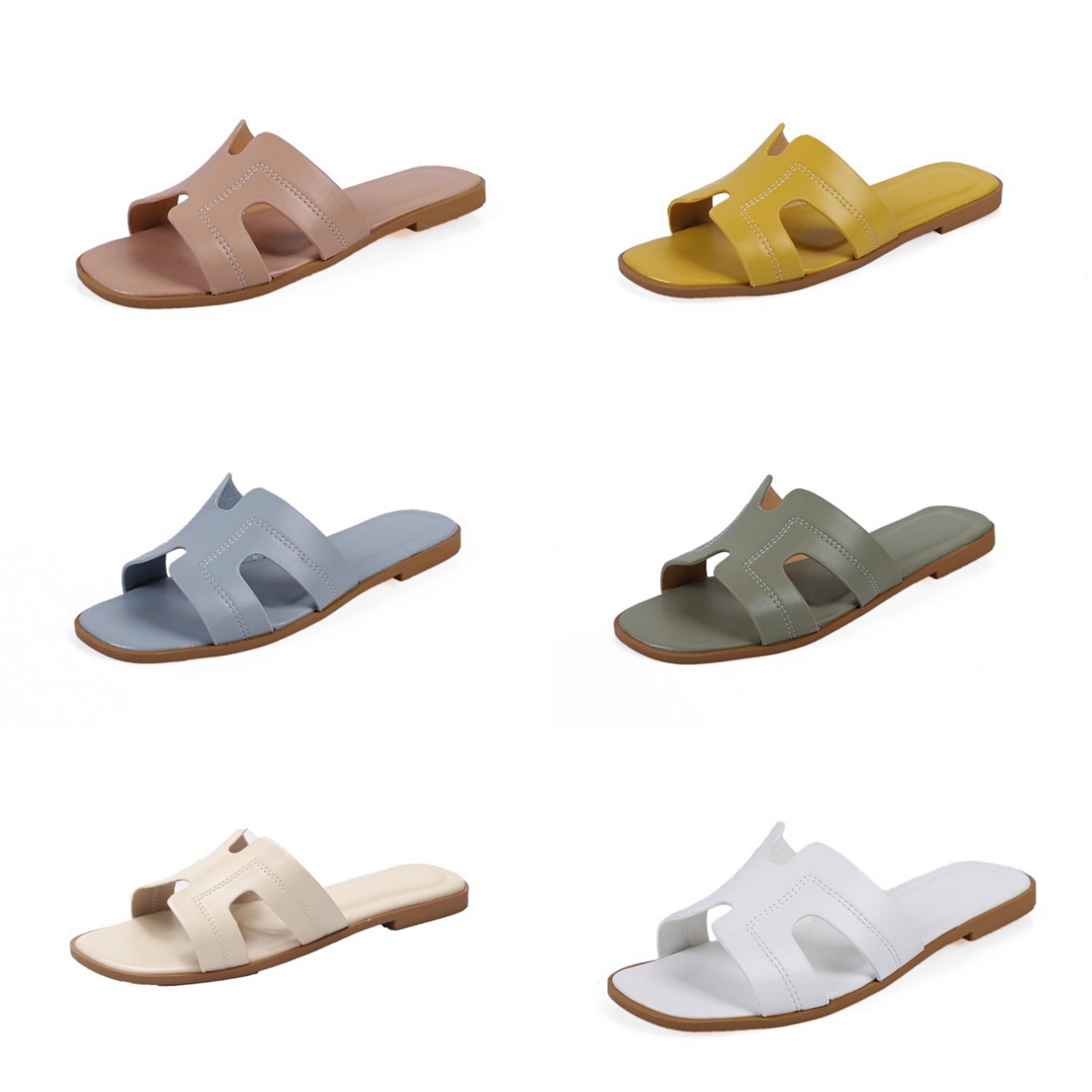 Comfort scarpe per le donne Beach Sandalo Donna Pantofole 2020 della fibbia Donne Soft Comfort Block signore Vendita Beige # 792