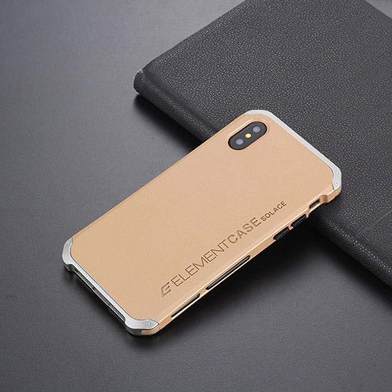 Para iPhone 11 pro Max XR XS MAX Samsung Galaxy S8 S7 além Phone Case Canto aumentar a proteção de confiança resistente Gota de metal Parafuso