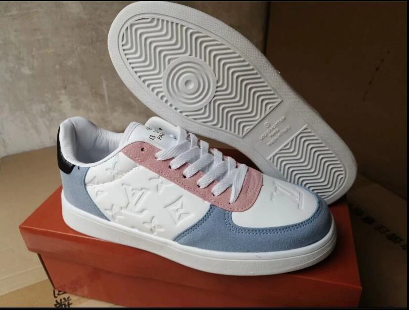 2020 erkek Günlük Ayakkabılar Moda Tasarımcısı Kadınlar Sneakers Deri Vintage Ayakkabı Espadrilles