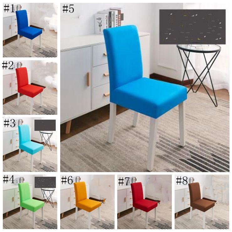 New Elastic Chair Cover Connection Semi-truncated Fashion Office Celebration Chair Cover Multi-scene Universal Chair Cover DSL -LXL980