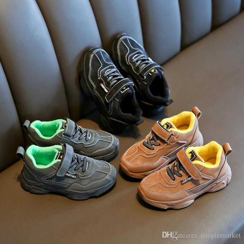 2020 enfants concepteur chaussures Athletic marque chaussures de course Big chaussures garçon enfants chaussures pour hommes de basket-ball pour enfants Sneaker chaussures coton