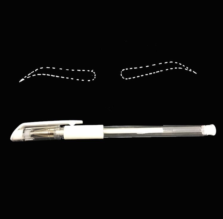 눈썹 마커 펜 문신 액세서리 신제품 영원한 보충 교재를위한 Microblading 귀영 나팔 외과 피부 감적 펜