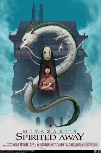 2020 Spirited Away Hayao Miyazaki Cute Japan Anime Movie Art Silk Print Poster 24x36inch60x90cm 089 From Chuy8988 10 38 Dhgate Com