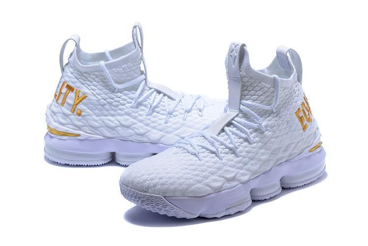 2020 nuovo arrivo XV 15 Scarpe uguaglianza nero men'White di pallacanestro per gli uomini 15s EP Allenamento men'Sneakers Size 40-46