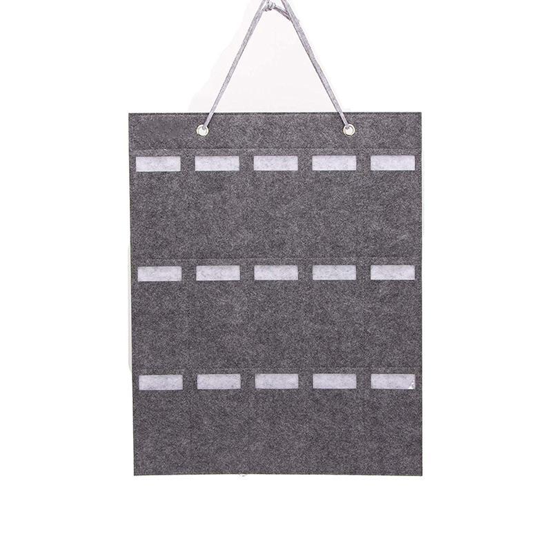 Occhiali da sole Hanging Bag Occhiali dell'organizzatore di immagazzinaggio parete della tasca di visualizzazione Porta Wall Hanging Decor Regali chiavi Car Holder Accessori