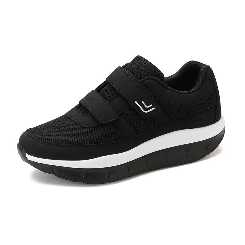Kadın Rahat Salıncak Platformu Ayakkabı Anne Nefes Örgü Ayakkabı Zapatos De Mujer Spor Sneakers Sapatos Mulher