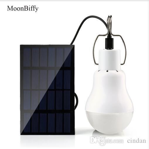 15W 130LM WholeSale Dropshipping MOONBIFFY 태양 광 조명 야외 조명 태양 램프 휴대용 전구 태양 에너지 램프 Led 조명