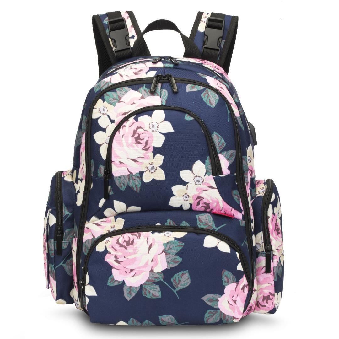 CoolBell младенца Пеленки сумки с изолирующими Карманы Матери Материнство сумка 15-дюймовый водонепроницаемый Kid сумка Многофункциональный рюкзак для путешествий