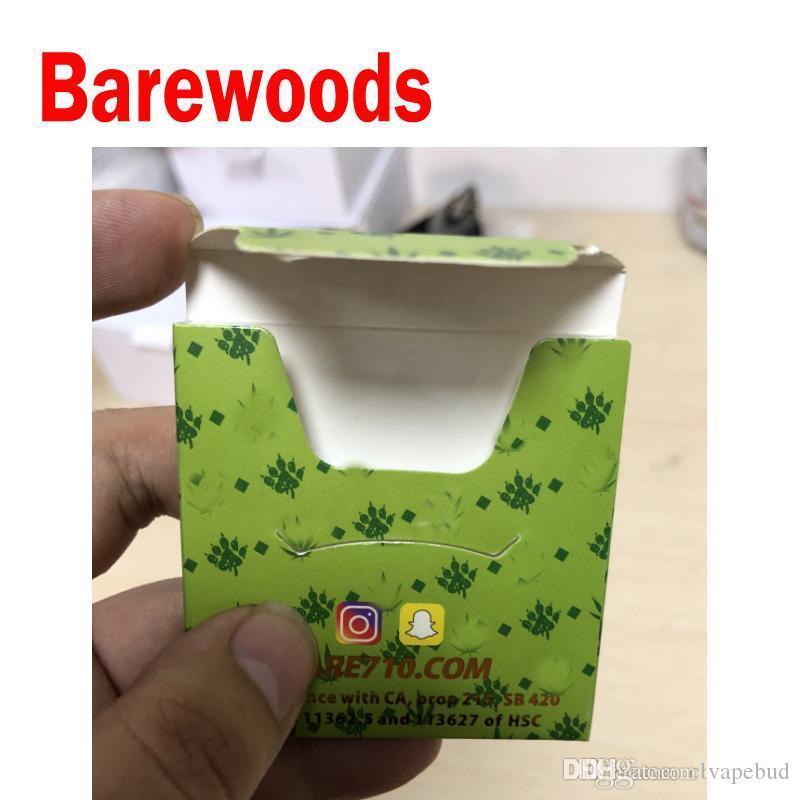 3.5g Desnéwoods desnudos 710 extractos de papel Concentrado de cera Destilate Premium TRIM NUG RUN CAJA DE EMBALAJE DE RESINA EN VIVO