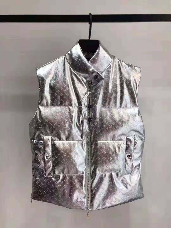 2020New para hombre de la marca de la chaqueta sin mangas del chaleco de la manera del invierno Casual Male abrigos abajo hombres del chaleco de los hombres espesa el calentamiento Chaleco