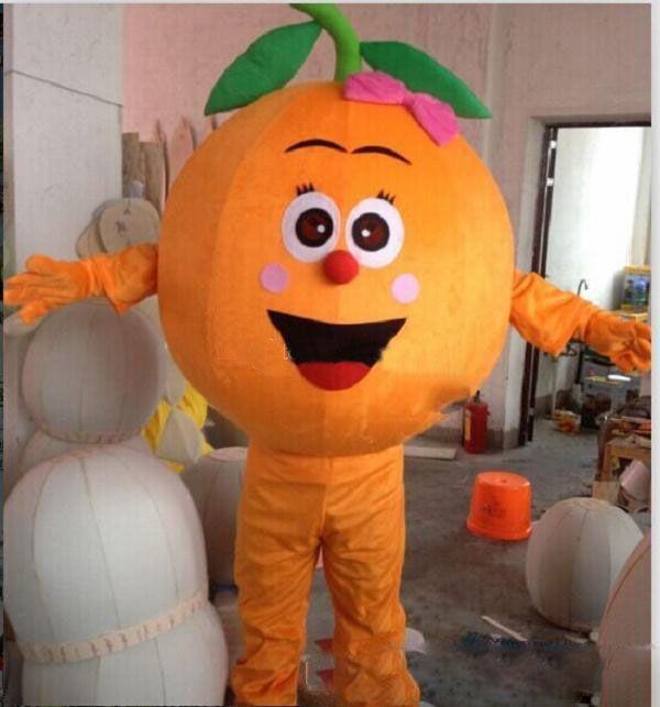Горячие продажи Кокосовый Оранжевый Дуриан фрукты мультфильм куклы костюмы талисмана реквизит костюмы Halloween свободную перевозку груза