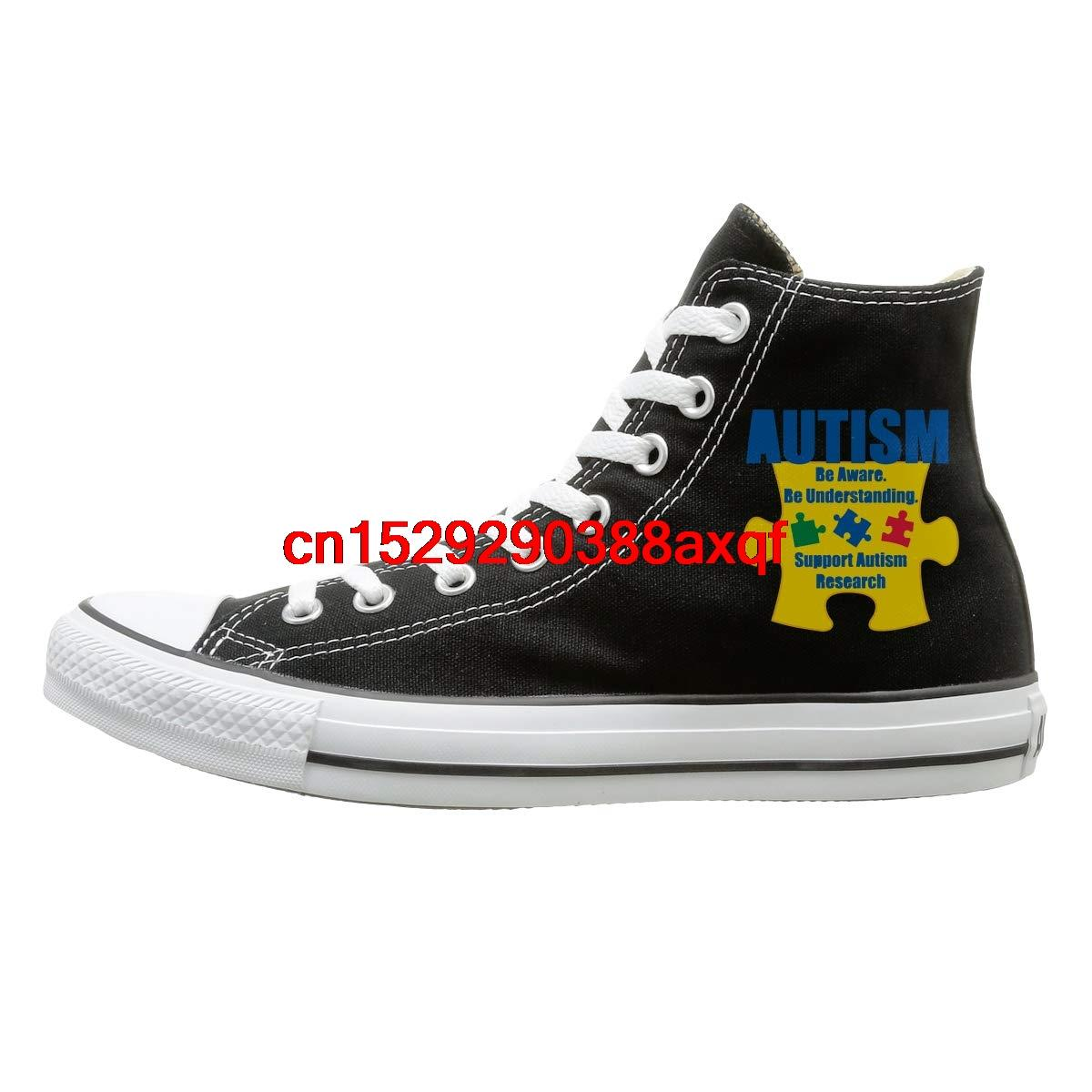 Womens Mens Custom High Top Lace Up