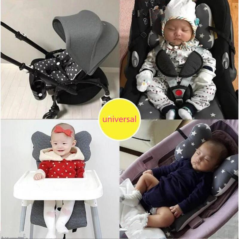 Breathable Baby Kids Soft Stroller Pram Pushchair Car Seat Liner Pad Cushion