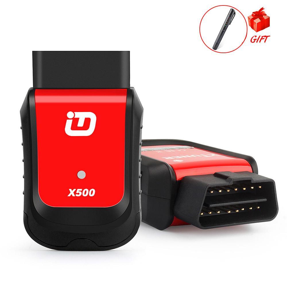 Ferramenta de diagnóstico X500 Scanner OBD2 EasyDiag Bluetooth Scanner Android por ABS EPB TPMS DPF bateria Oil IMMO Auto Scanner