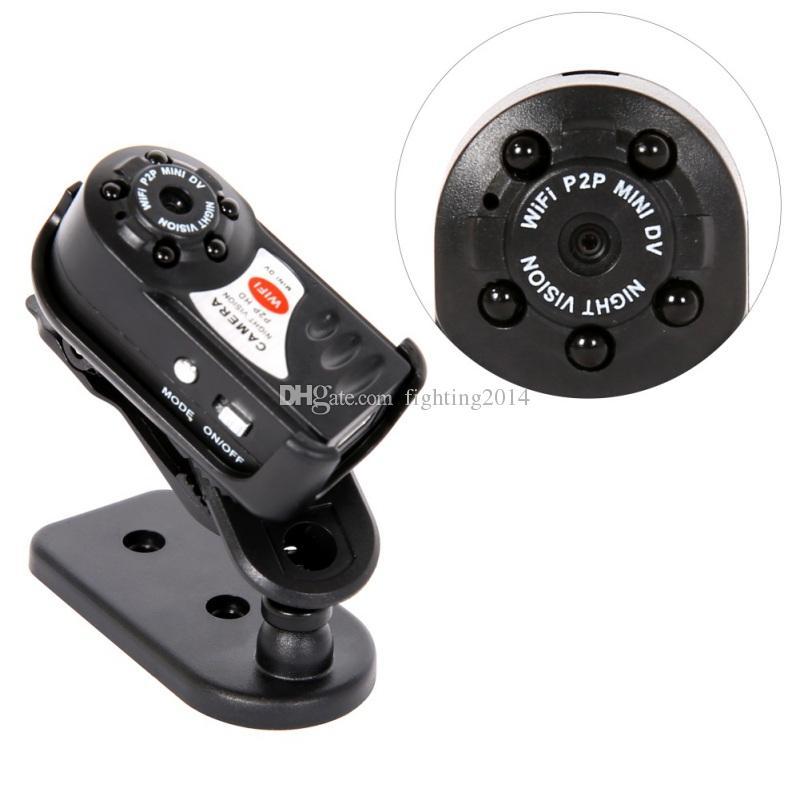 Q7 Mini Camera 480P Wifi DV DVR Wireless P2P IP Cam Brand New Mini Video Recorder Infrared Night Vision small camcorder