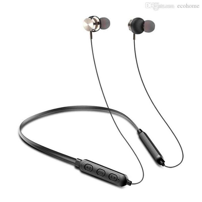 Cou monté Bluetooth casque Bluetooth 5.0 stéréo sans fil Sport longue veille Sport Casque Gaming Headset IPX5 waterpoof