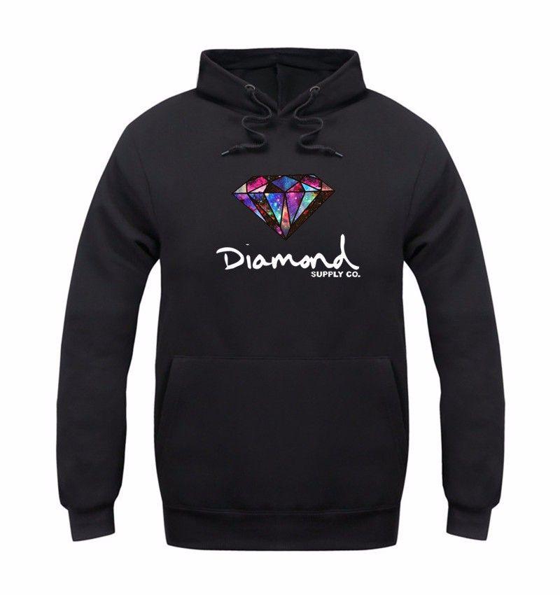 NEW 2020 Marke Diamant-Versorgungsmaterial-Männer Hoodie Frauen warme Sweatshirt Winter Herbst Art und Weise Hip-Hop-primitive Pullover Mantel Straße Vlies