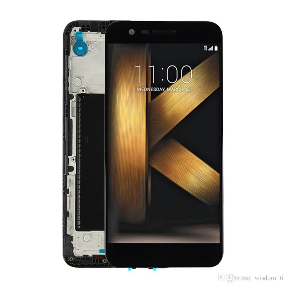 Vente en gros pour LG K10 2017 M250 M250N Assemblée LCD Écran tactile Digitizer Replacment 5.3inch écran complet meilleure qualité