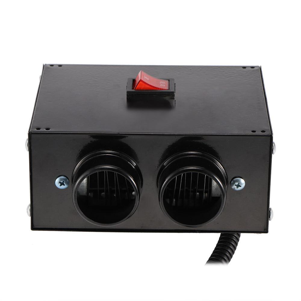 New 400W Chauffe voiture Aéroconvecteur voiture 12V Chauffage hiver chaud Pare-brise Dégivreur antibuée allume-cigare